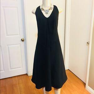 Flared Midi Dress